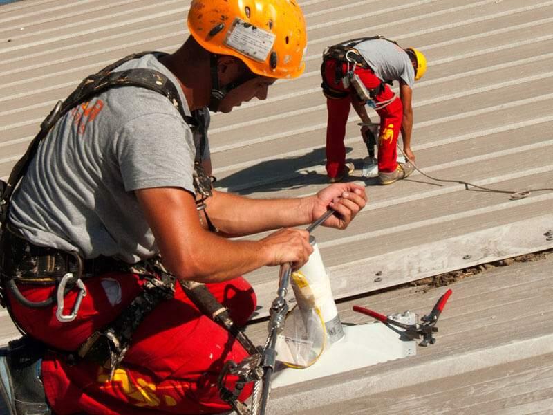 líneas de vida-trabajos verticales sevilla