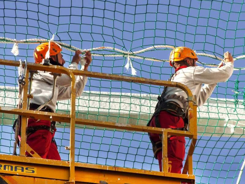 Redes de seguridad - Tecnika Trabajos Verticales